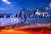 skyclear / weather webpage