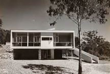post war international style / modern architecture