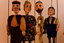 puppets / by Pannini Evans