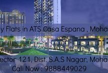 ATS Flats in Chandigarh / Book your #flats in #Chandigarh's #prestigious township, ATS #CasaEspana. Located in #Mohali, the township is a few minutes away from Chandigarh. For more information, call at : 9888449029