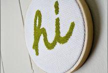 stitching / by Christina Garrett