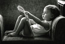 children reading books