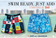 Swim Ready!  / by DestinationXL Men's Big & Tall Superstore
