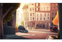 Illustration city