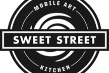 M.A.K. / The Mobile Art Kitchen- Sweet Street Desserts has collaborated with a group of artists to create the Mobile Art Kitchen, an innovative pop-up café with two missions: sharing Sweet Street's bakery-centric American cuisine with the streets of Paris, and supporting the arts.