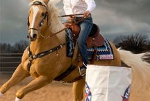 barrel horse racing