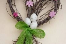 Easter decorations / I very don´t like Easter, but I very like Easter decoration!