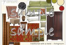 Livingroom Design Packages / A little taste of more to come from iStyleinteriors.com for the Livingroom. Want another style you don't see here? Just ask!