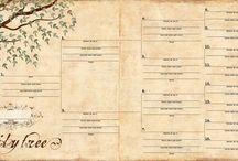GENEALOGOCAL CHARTS