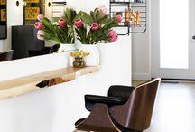 in home hair salon / by Erica Heard