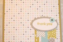 Banner Blast Card Ideas / by Laurie Graham: Avon Rep/Stampin' Up! Demo