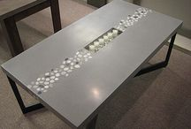 Concrete table ideas