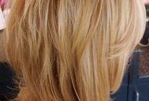 Frisur und Make-up
