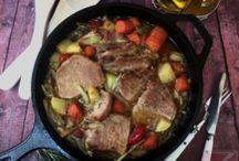Dutch oven-ben készített ételek