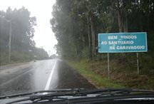 Antigo Santuário de N. S. de Caravaggio (Capela dos Ex-votos) - Farroupilhas, RS.