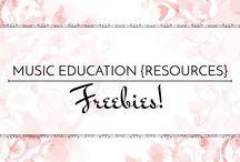 Freebies! - Music Education {Resources} / Fantastic freebies for the music room! #elementarymusic #elmused #teacherfreebies #tptfreebies
