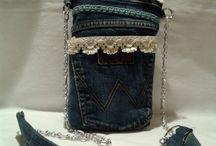 RICICLO CREATIVO: l'amato Blue Jeans!