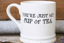 Love Mugs / For the love of your life... Remind them each and every time they enjoy a cuppa just how much they mean to you.