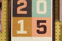 Telegramme Paper Co. - Illustrated Calendar 2015