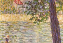 G Seurat French painter