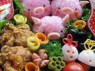 Cute, Japanese bento
