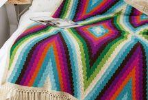 hæklede tæppe