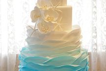 wedding cake - nautical