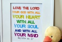 childrens room with Jesus