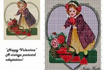 Nurdan Kanber - Cross Stitch Freebies / To see more have a look at the blog:- http://nurdanishere.blogspot.co.uk/