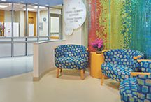 On The Boards:  Pediatric Spaces / Pediatric environments require unique considerations. The successful planning and design of children's health facilities must account for a wide range of age groups and family accommodations while realizing appropriate levels of safety, playfulness, education, and efficiency.