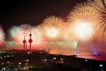 New Year / new year fireworks all around the world