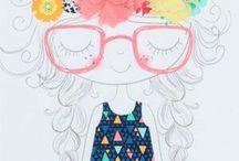 Ilustraciones lindas