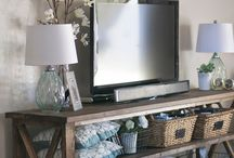 TV room Ideas / by SimplyLife
