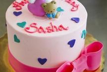 Hello Kitty Cakes/Cupcakes / by Shera Berlin