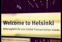 Roadtrip à Helsinki - Eté 2015 / Entre aurore boréale et lever du soleil.