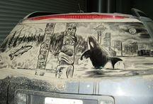 Car Dust Art