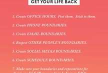 PRODUCTIVE: HOW TO BE / Time Block, Goals, Organize Your Life