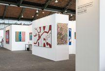 Art Aborigène - OFF FAIR - Tour et Taxis 2015 / Art Aborigène d'Australie. Peintures d'Art Aborigène. Tour et Taxis.