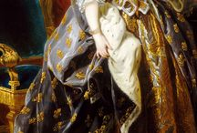 Maria Leszczynska / Marie Leczinska Queen of France, la regne de France