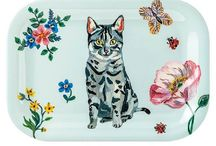 Cat Assorted Kitchen Goodies