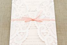 Invitations, favours and displays