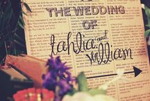Book Theme Wedding