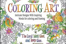 christian colouring book