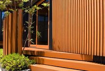 Architectural Cladding / A range of architectural cladding and outdoor room products from Takasho Japan