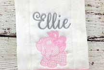 Baby Burp Cloths / Create your own custom burp cloth