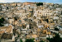 """matera i must / When I became interested, okay obsessed, with the theme of """"place through literature,"""" I stumbled upon _Seasons in Basicilicata_, and I was hooked--Matera, one day you will be my home, too."""