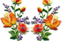 Fleur broderie amazone