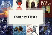 Fantasy Firsts / Join us for a yearlong celebration of the first book in a fantasy series. Throughout the year we'll be talking about old favorites and introducing new fantasy firsts. We'll feature guest posts from authors, special offers on ebooks, extended excerpts, exciting sweepstakes, and more.  Whether you want to gush with us about your favorites or are looking to discover your next great read, we hope you'll join us in this celebration. #FantasyFirsts