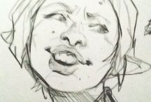 Sketches / Analogue drawings, illustrations etc.
