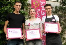 Clayrton's Academy 2015 / Concours d'emballage réservé aux apprentis fleuristes.